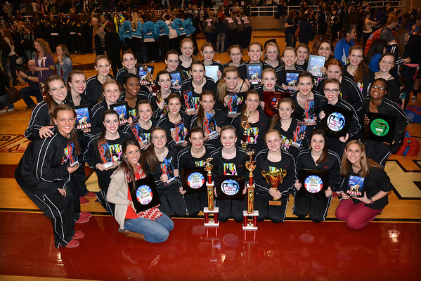 2014: ADDT North Texas Regional Competition - Heath High School - Feb. 1
