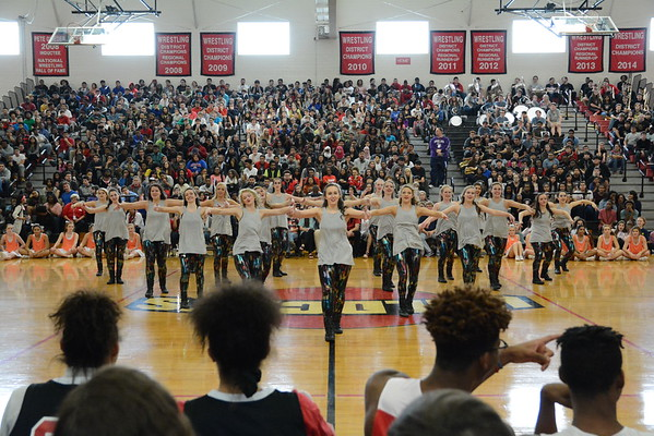 2016: LHHS Winter Pep Rally - Jan. 29