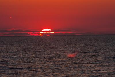 Lake Michigan Sunset 7 16 16