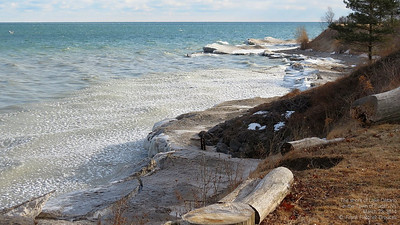 Lake Ontario March 2014
