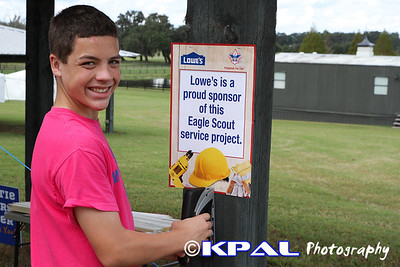 Logan's Eagle Project 2012-9