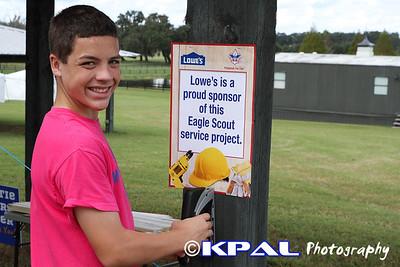 Logan's Eagle Project 2012-9
