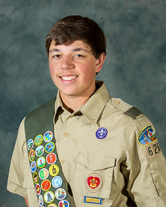 Zach Stroud, Eagle Scout Photo