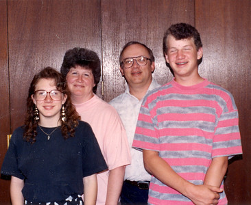 The Elliot Family, Doug, Sharon, Mike and April
