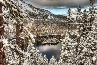 snowy-lake-island