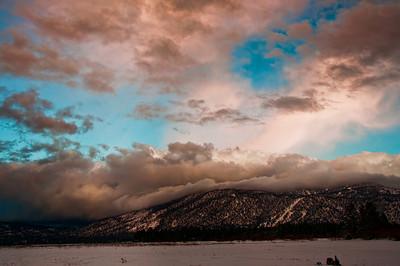 mountain-clouds-sunset
