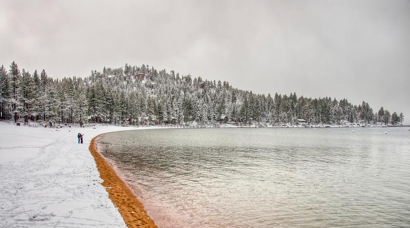couple-lake