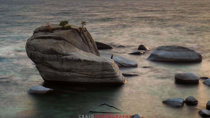 Bonsai Rock Lake Tahoe #1