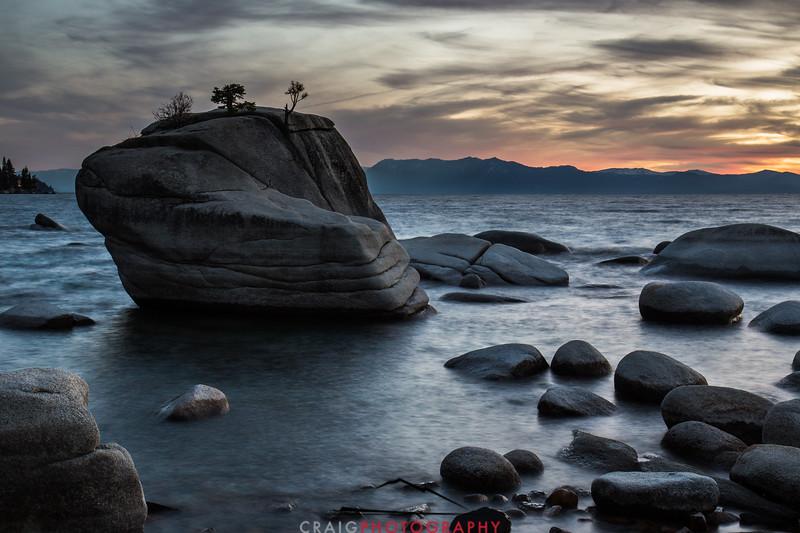 Bonsai Rock Lake Tahoe #4