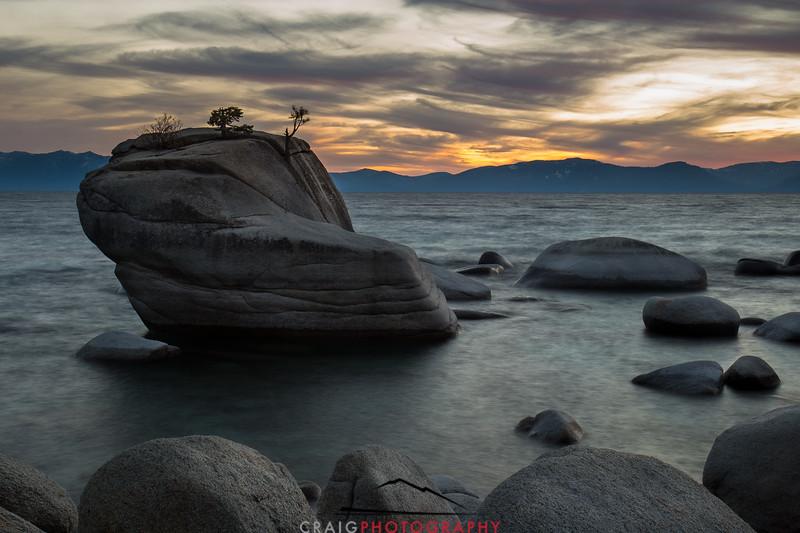 Bonsai Rock Lake Tahoe #2