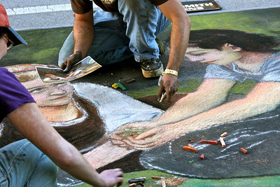 Lake Worth Street Painting Festival, February 2011.