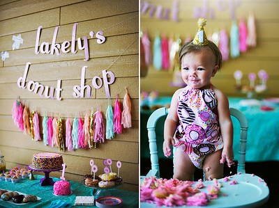 Lakely's 1st Birthday Party [event]