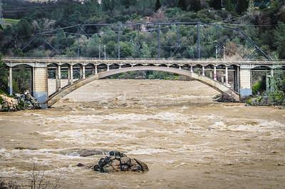 Raging River at Rainbow Bridge