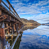 OK Falls Trestle Reflections