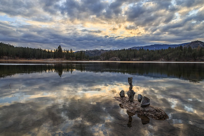 Mahoney Lake Dusk 2019 -2