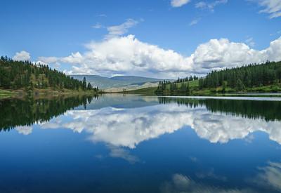 Green Lake Spring Reflections 2020