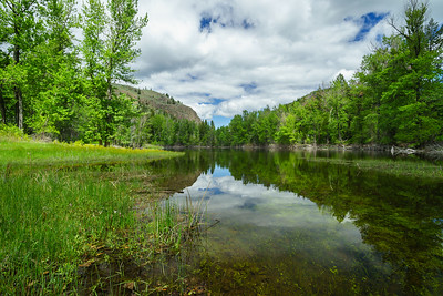 Twin Lakes Spring Reflections 2020