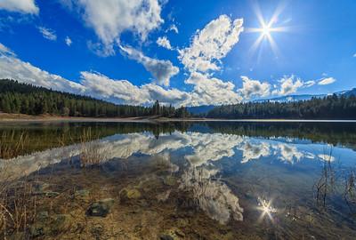 Mahoney Lake Sunflare 2-17