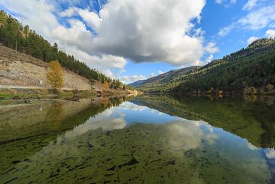 Yellow Lake Algae Bloom 2 - Autumn