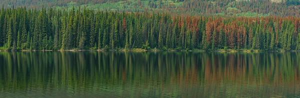 Pyramid Lake Panoramic Reflections