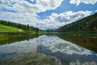 Green Lake Summer Reflections 2020