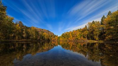 Twin Lakes Autumn- Long Expo