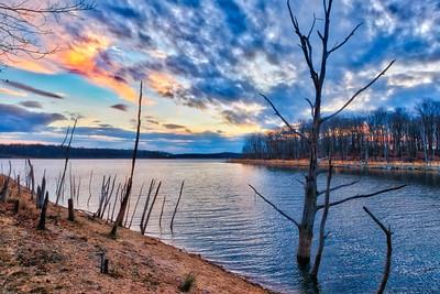 Merril Creek Twilight HDR