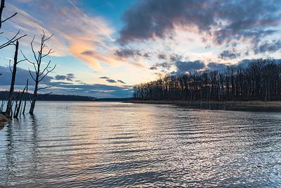 Twilight at Merrill Creek