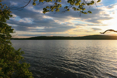 An Evening in May on Budd Lake