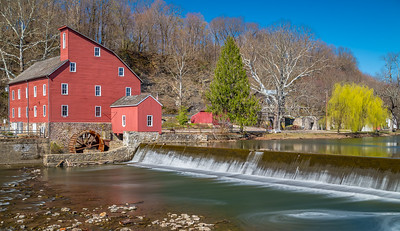 Clear Spring Day at the Red Mill