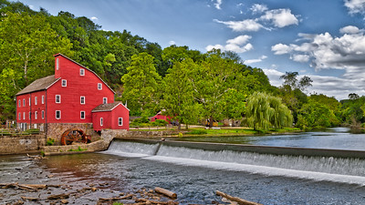 Late Summer at the Clinton Mill