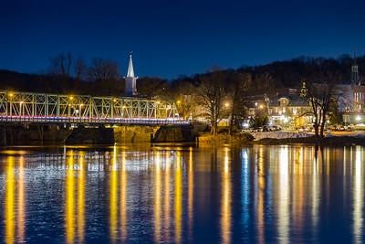 February Evening in Lambertville