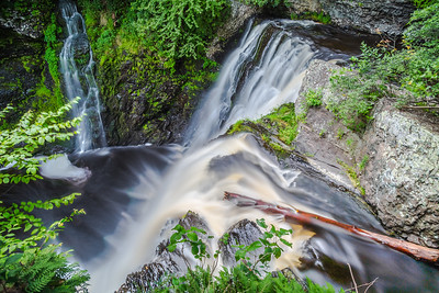 Lower Falls at Raymondskill from Above
