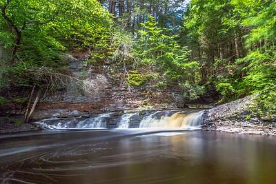 Raymondskill Falls Upper Cascade