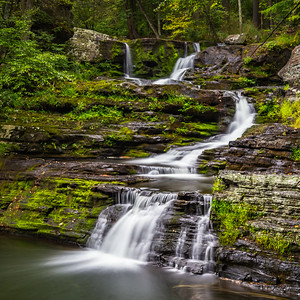 Factory Falls at Childs Park