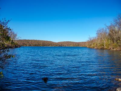 Sunfish Pond on the Appalachian Trail