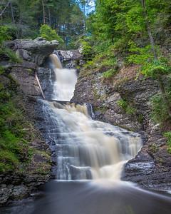 Raymondskill Falls Middle Section