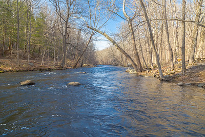 Musconetcong at Stephens - Early Spring