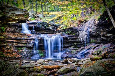 R.B. Ricketts Falls - Ricketts Glen