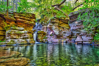 Adams Falls Plunge Pool - Ricketts Glen