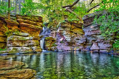 Adams Falls Plunge Pool - Ricketts Glen
