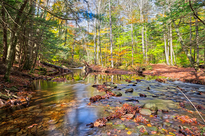 Autumn Reflections on Kitchen Creek