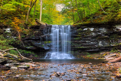 Harrison Wright Falls - Ricketts Glen
