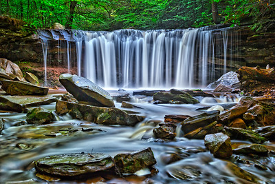 Oneida Falls Closeup - Ricketts Glen