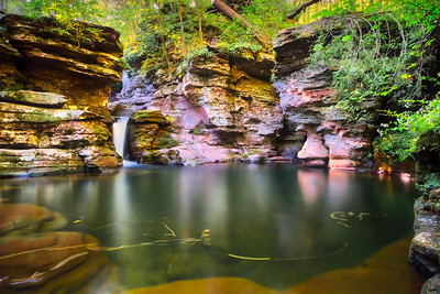 Deep Plunge Pool below Adams Falls