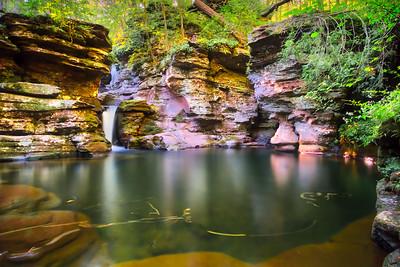 Deep Plunge Pool below Adams Falls