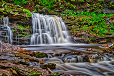 Cayuga Falls - Ricketts Glen