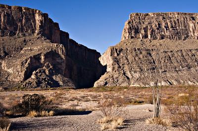 Santa Elena Canyon.