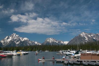Yellowstone Vacation - Grand Teton National Park - Jackson Lake Area - Coulter Bay Marina