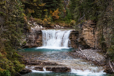 Waterfall in Johnston Canyon 2
